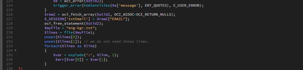Variables desde archivos de texto
