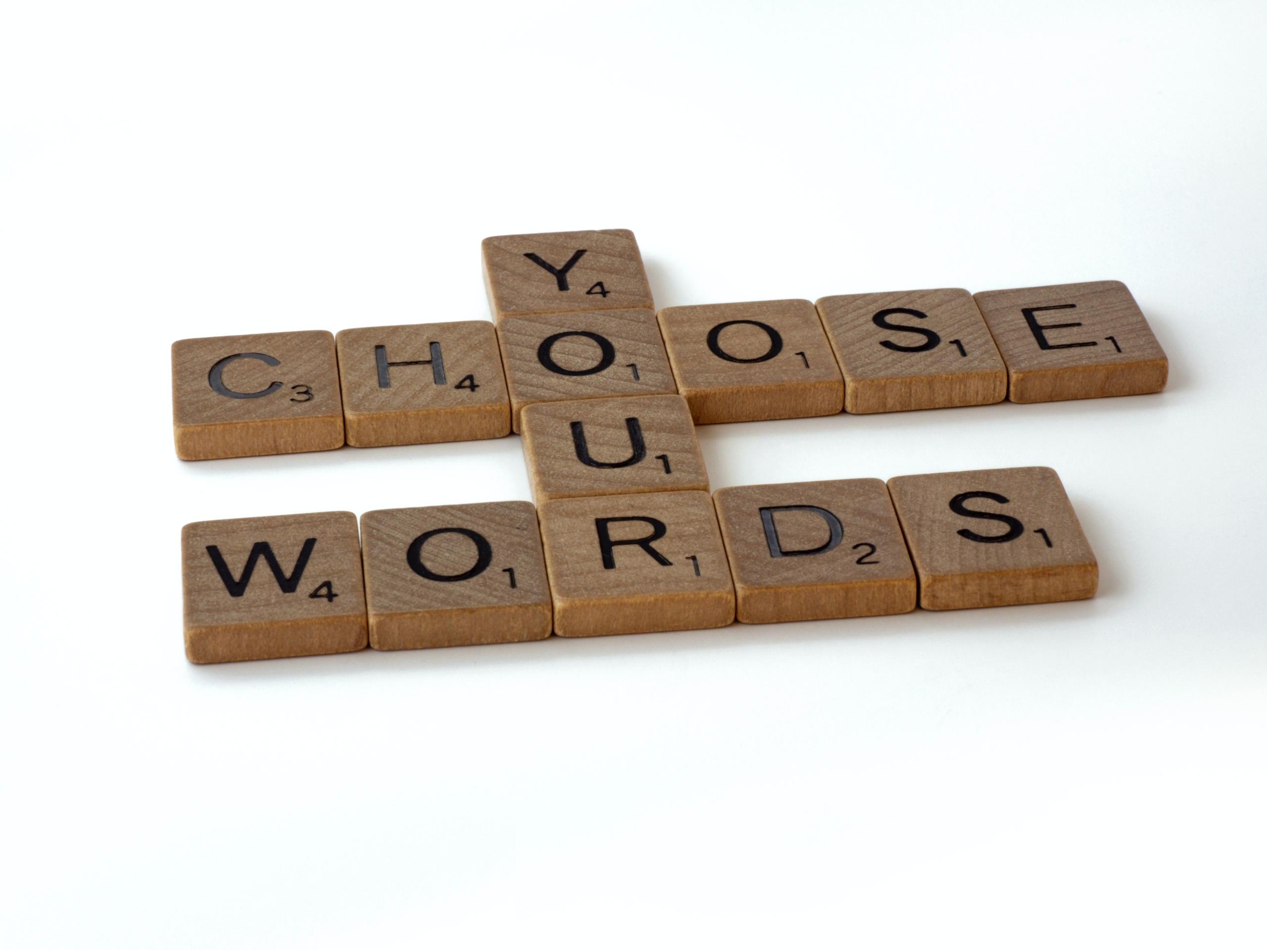 Si buscas con palabras....